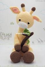 Tarturumies - Maria Bernadette Pozzi - Pattern Alfa Giraffe  - Free