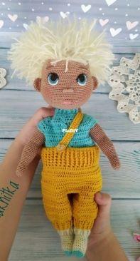 Mamaknitka - Polina Baeva - Doll Vanechka - Russian