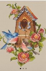 Paradise Stitch - Birdhouse by Olga Lankevich