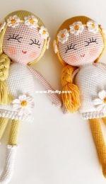 Amigurumi Land Store - Esra Erdurcan - Daisy Doll