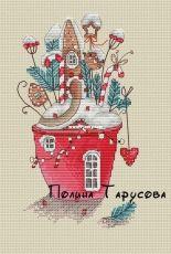 Christmas Cottage by Polina Tarusova /Полина Тарусова