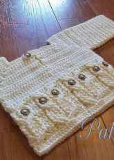 Carlinda Lewis -Its a Hoot Owl Baby Sweater