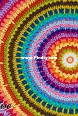 One and two company - Carolina Guzmán - Colorful Rug - English