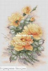 Ekaterina Volkova - Yellow Roses