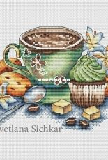 Svetlana Sichkar - Cup with coffee