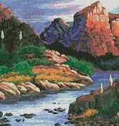 Artecy Cross Stitch - Canyon