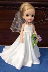 Wedding dress for my doll