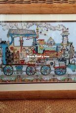 Bothy Threads Cut Thru' Steam Train