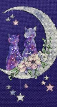 Star Cats by Vitaliya Mishchuk