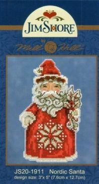Mill Hill Jim Shore JS20-1911 Nordic Santa