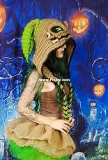 The Twisted Hatter - Natalie Allen - Burlap Chap Hood