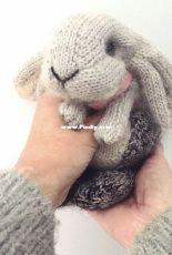 Claire Garland Dot Pebbles Holland Lop Rabbit