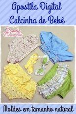 Carmela Caramella Apostilla Calcinha de Bebê - Portugues