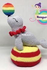 Neogurumi - Jessica Doering - Jazzy the Circus Seal