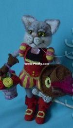 Olenochka - Olga Korchagina - Puss in The Boots - Der gestiefelte Kater - German