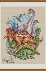 Jurassic Park. Part 2 by Anna Petunova