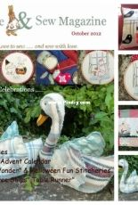 Bustle & Sew Issue 21 - October 2012