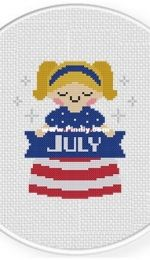 Daily Cross Stitch . July Maiden