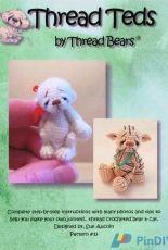Thread Bears 13 - Thread Teds - Sue Aucoin