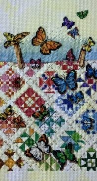 Dimensions 6927 - Butterflies on Nine Patches