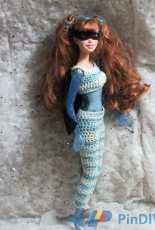 The Dragon's Cave-Superhero Outfit for Barbie by Dragons Ashes-Free
