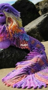Crafty Intentions - Megan Lapp - Add-On Merlion Tails and Fins - English