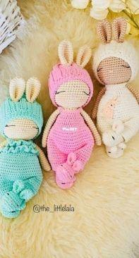 The Little Lala - Bunny Lio - English