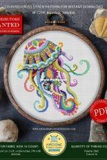 Awesome Pattern Studio - C239 - Mandala Jelly Fish XSD + PCS