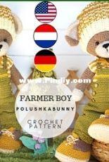 Polushka Bunny - Maria Ermolova - Farmer Boy Outfit