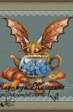 Dragon in the teapot by Nadezhda Kazarina
