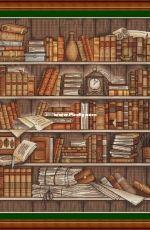 Bookshelf by Nadezhda Kazarina / Nadi