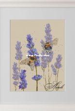 Lavender and Bumblebee by Anna Smith (Kuznetsova) XSD