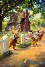 HAED HAESG 295057 The Three Little Pigs by Scott Gustafson