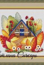 Autumn Magic House by Svetlana Sichkar