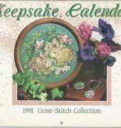 Cross Stitch Collection-Keepsake Calendar 1991