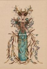 Mirabilia Designs MD164 - Cathedral Woods Goddess by Nora Corbett