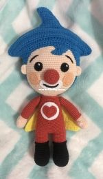 Crochet Plim plim clown