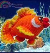 Delicious Crochet - Paola Navarro- Bubbles the little fish
