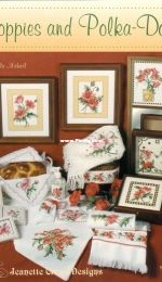 Jeanette Crews Designs 1233 - Poppies and Polka-Dots by Ursula Michael