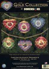 Dimensions 8706 - Timeless Elegance Ornaments