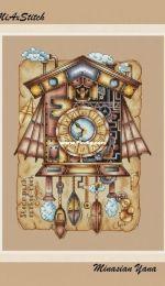 MiAxStitch - Steampunk Cuckoo-clock by Minasyan Yana