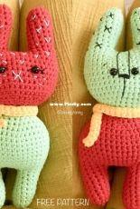 Anvis Granny - Joy Pham Sontakke - Strawberry and Cactus Bunnies - Free