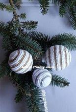 Rikke Sorensen - Christmas balls like Kahler - Danish - Free