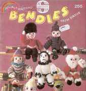 Sirdar 255 Bendies-Toy Knitting and Crochet Pattern Booklet by Janet Carroll