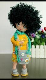 KnittedToysNatalia - Natasha Kirichenko - Crochet Doll Frosya