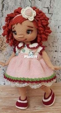 amigurumiakpinar toys - elif akpinar - lili doll - turkish
