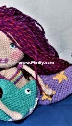 crochet amigurrumi mermaid