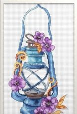 Blue Lamp by Inna Peshkova
