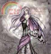 HAED HAEJG 14084 Silver Moon Fairy  by Jessica Galbreth