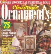 Just Cross Stitch JCS Christmas Ornaments 2000